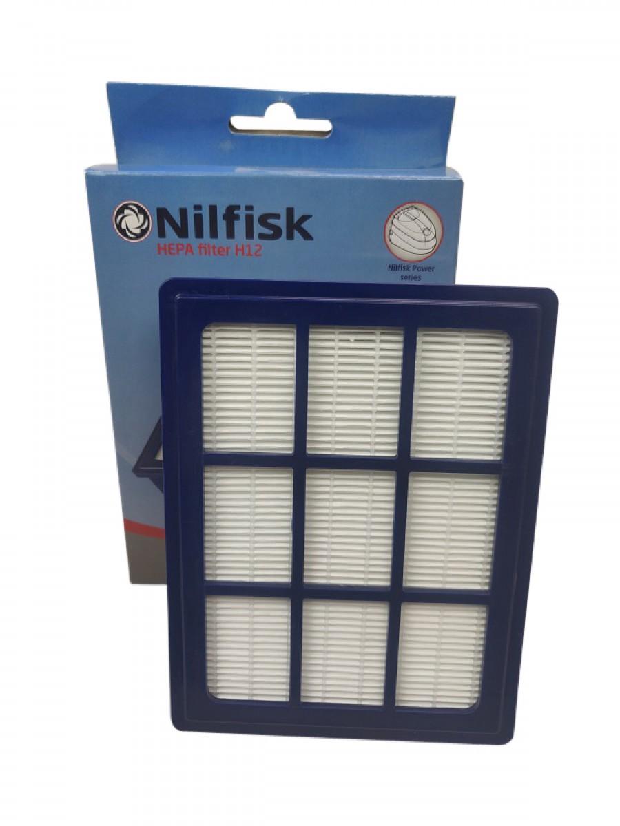 Hepafilter H10 til Nilfisk Power serien Originalt