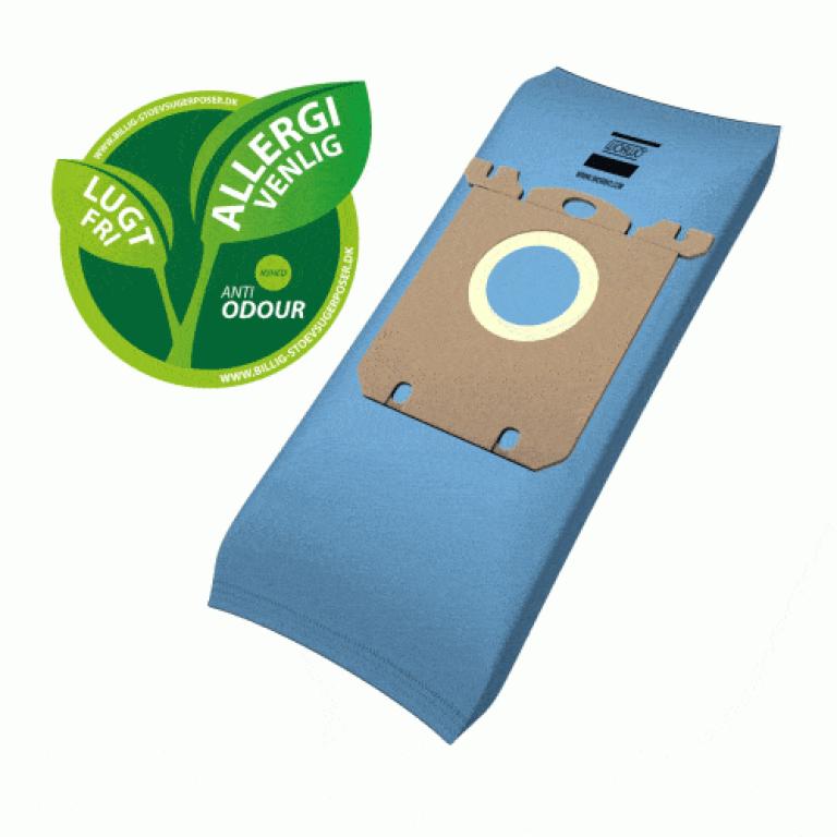 Anti Odeur støvsugerposer til Philips | 4 stk + 1 filter
